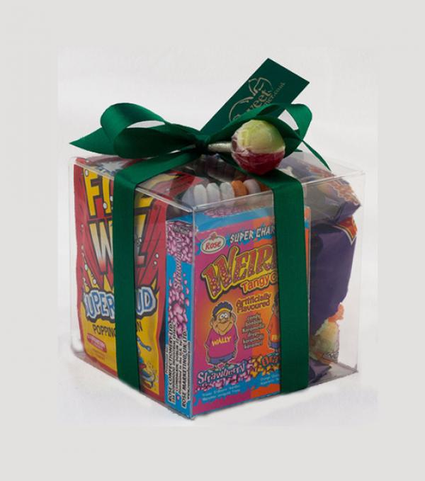 Retro sweets cube - a great small present